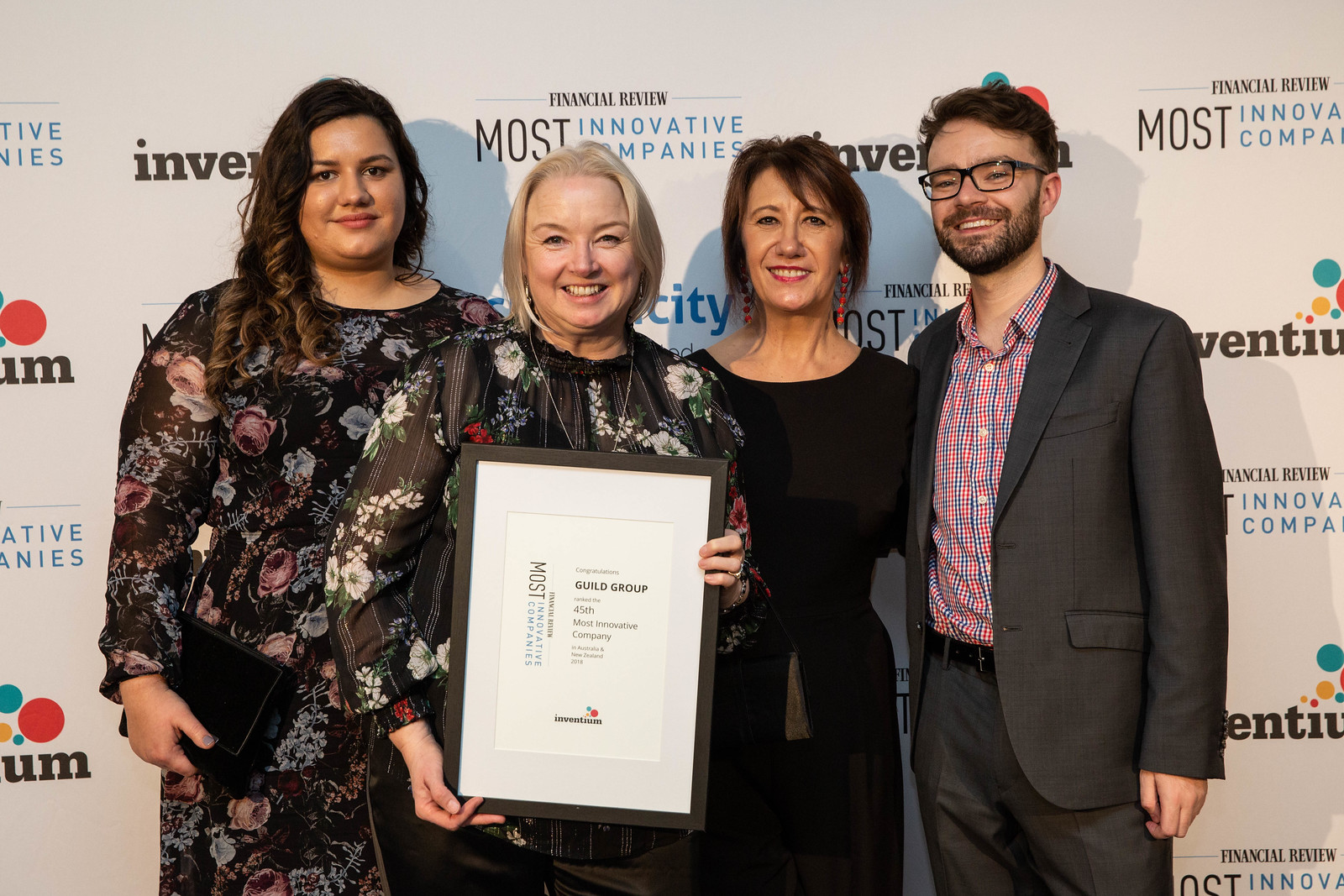 AFR Most Innovative Awards night 2018 Image